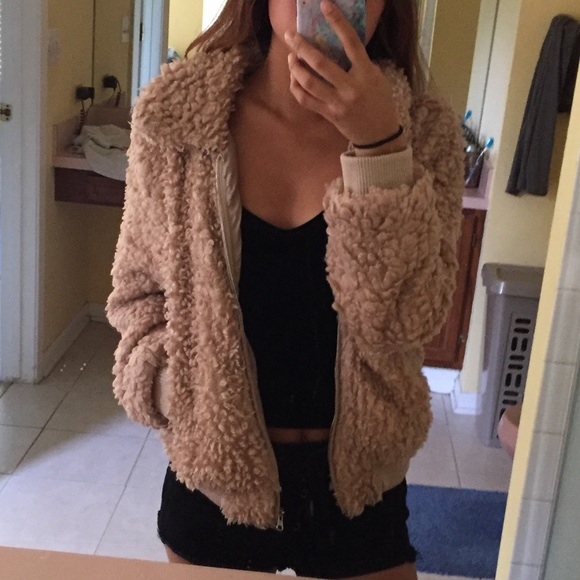 low priced beauty united states Fashion Nova Jackets & Coats   Teddy Fur Jacket   Poshmark